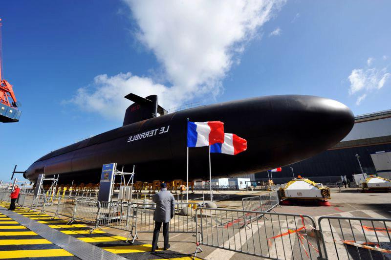 kapal selam nuklear perancis