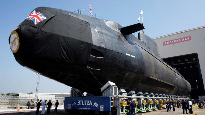 kapal selam nuklear united kingdom