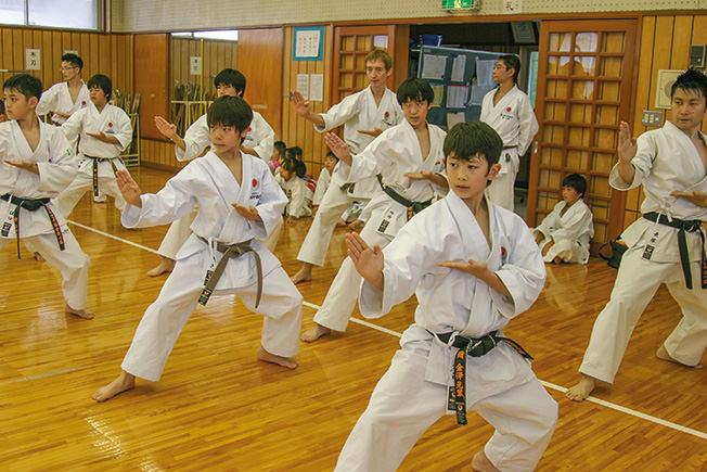 karate seni mempertahankan diri jepun