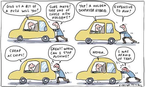 kartun sindir industri kereta australia