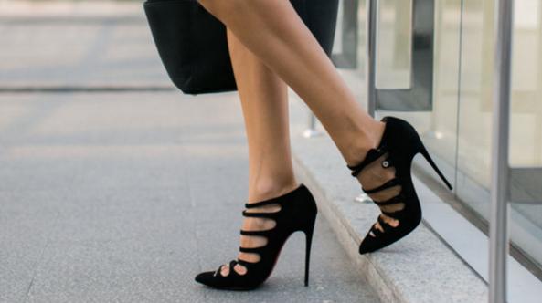 kasut tinggi boleh menyebabkan masalah postur badan