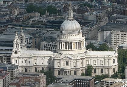 katedral st paul mercu tanda hampir musnah satu ketika dahulu 541
