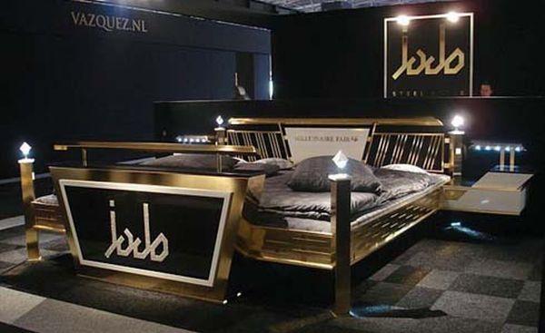 katil jado steel style gold 5 katil palingmahal di dunia 2 838