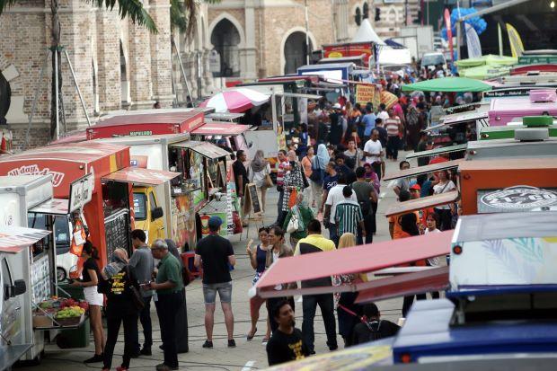 kawasan food truck mbpj