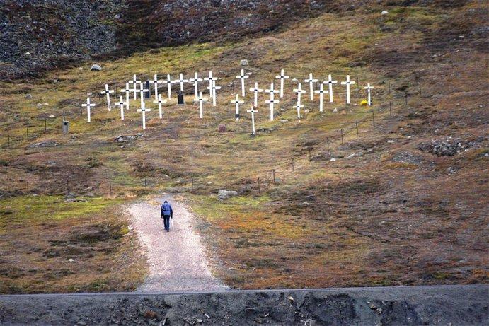 kawasan perkuburan longyearbyen