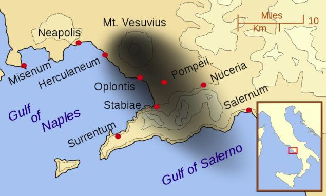 kawasan terkesan letusan mount vesuvius 385