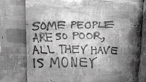 kaya tapi miskin