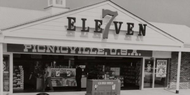 kedai 7 eleven di picnicville usa