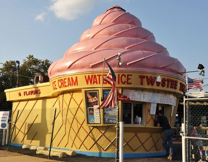 kedai ais krim twistee treat di seluruh amerika