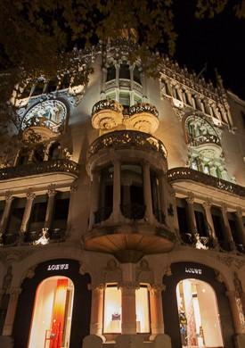 kedai loewe di barcelona
