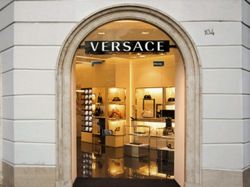kedai versace di rome
