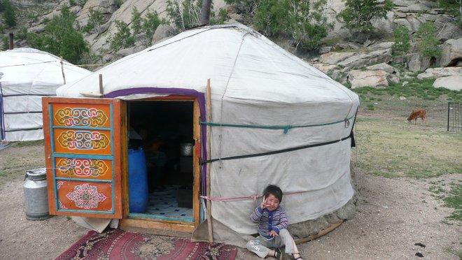 kediaman khemah ger mongolia