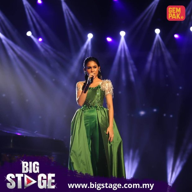 kedudukan peserta konsert kedua big stage 2018 2