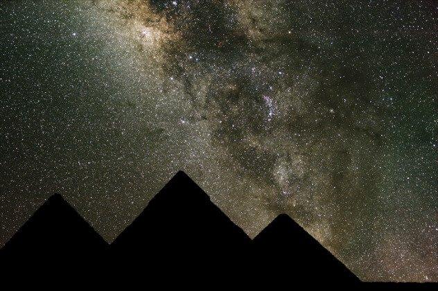 kedudukan piramid