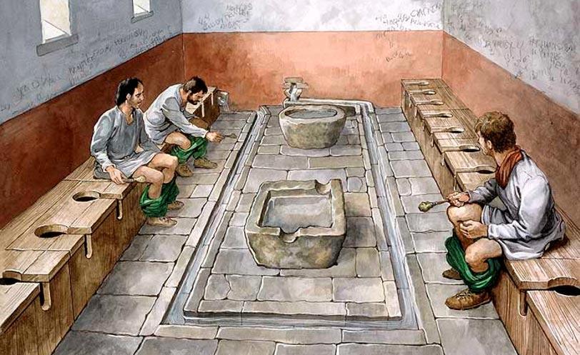 kegunaan air kencing pada zaman empayar rom 5
