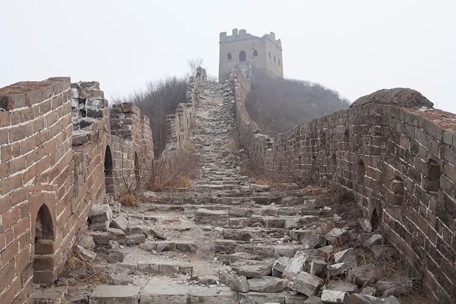 kehancuran tembok besar china