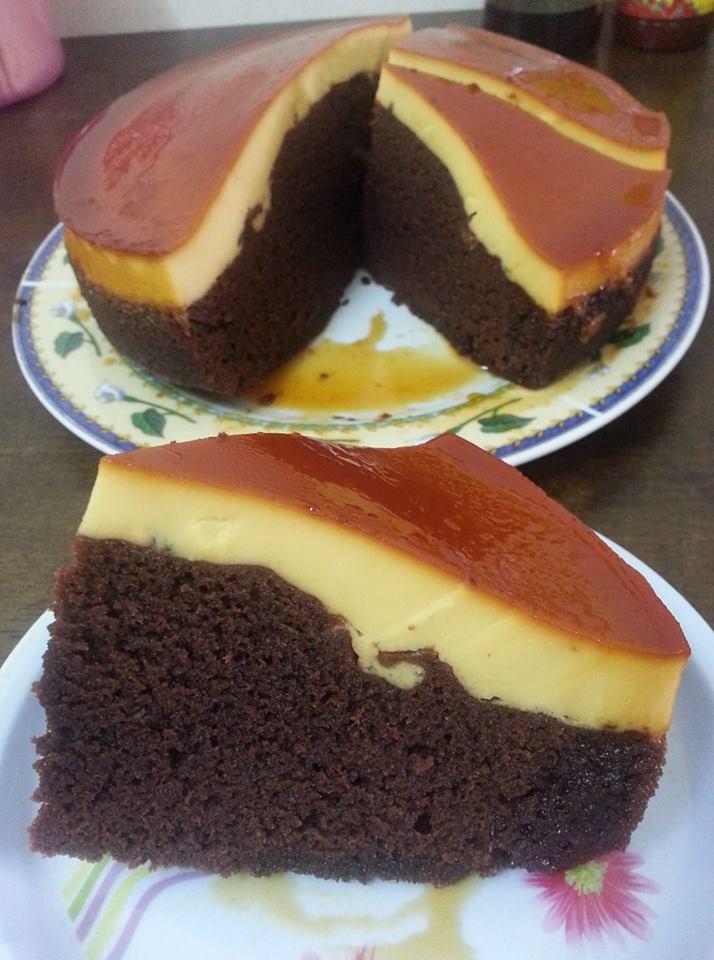 resepi karamel  brownies quotes Resepi Kek Cawan Azlita Masam Manis Enak dan Mudah