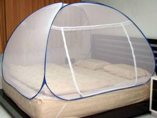 kelambu moden yang dijual sangat mudah dipasang