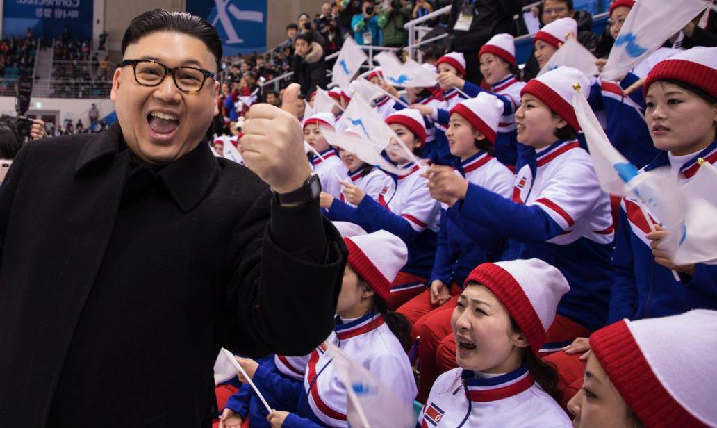 keluar dari korea utara melalui pasukan olimpik 2