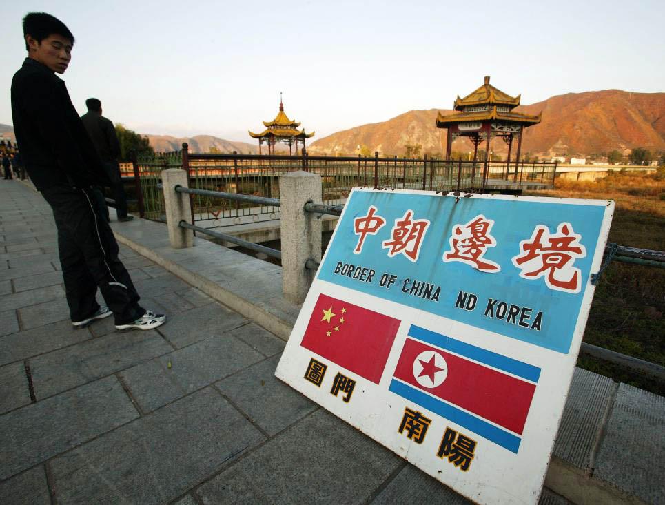 keluar dari korea utara melalui sempadan china dan korea utara