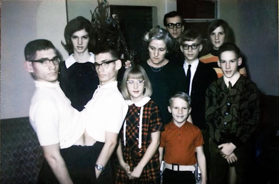 keluarga galyon bersama ronnie dan donnie