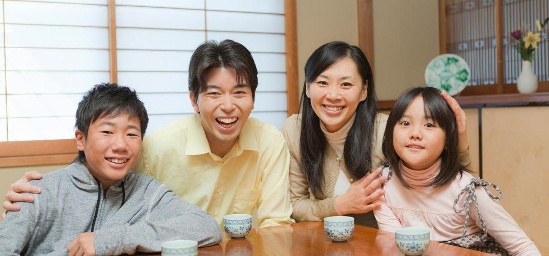 keluarga jepun mengamalkan hidup sederhana