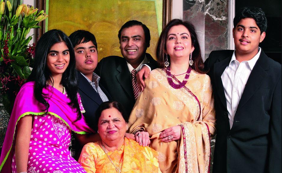 keluarga kaya mukesh ambani