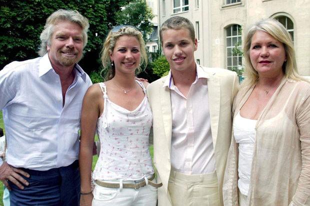 keluarga richard branson