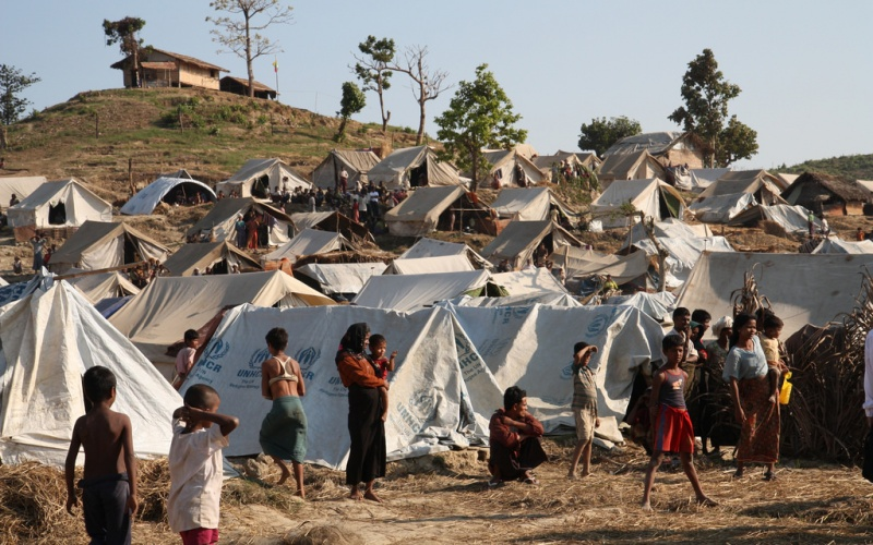 kem pelarian rohingya bangladesh