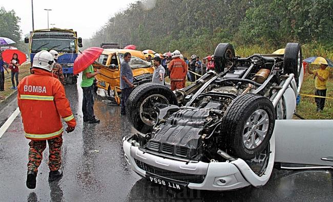 kemalangan malaysia