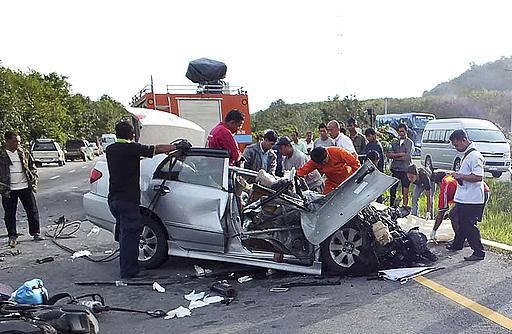 kemalangan thailand 458