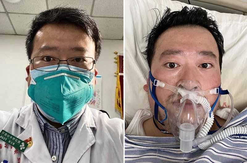 """Bác sĩ Khoa mắt Lý Văn Lượng - người """"lên tiếng cảnh báo"""" về dịch bệnh."""
