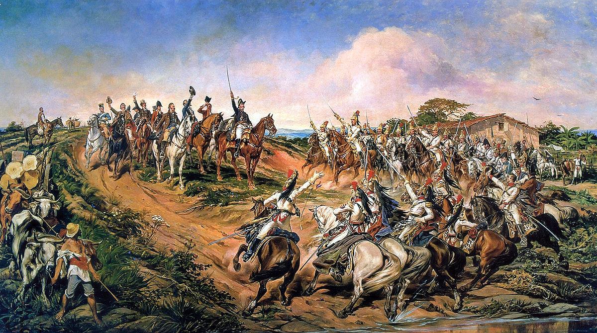 kemerdekaan brazil