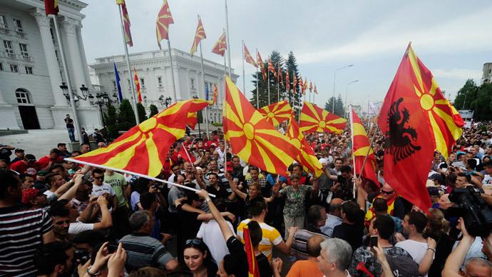 kemerdekaan macedonia 1991