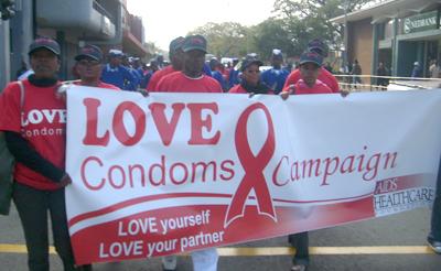 kempen penggunaan kondom swaziland