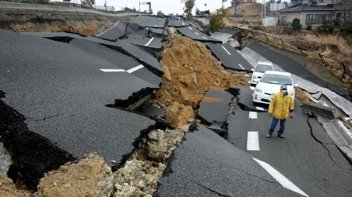 kemusnahan akibat gempa bumi