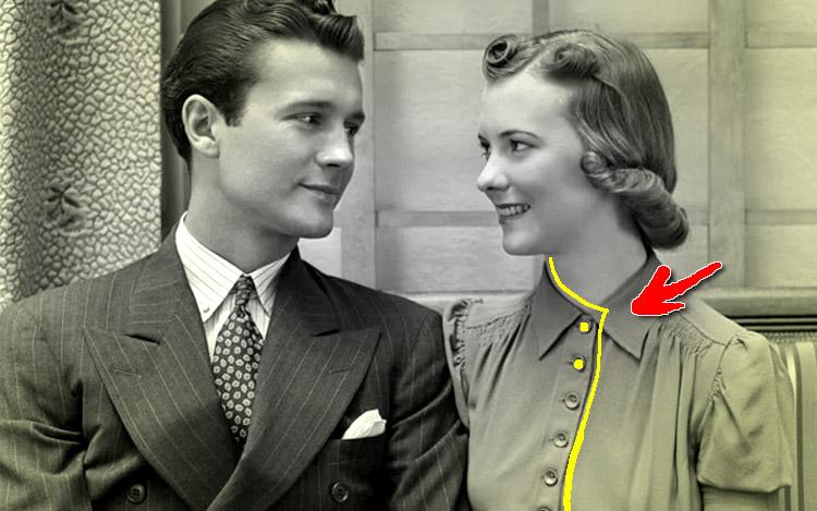 kenapa butang baju wanita sebelah kiri