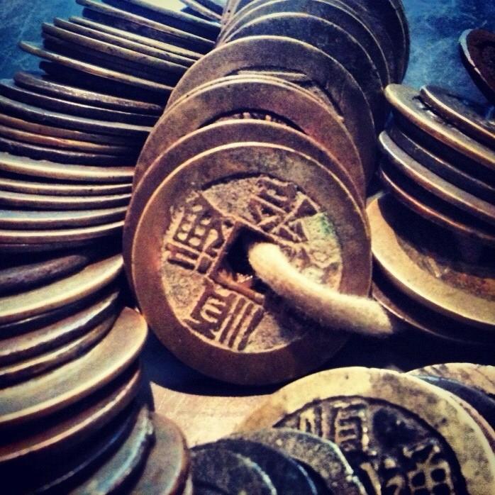 kenapa kebanyakan syiling kuno mempunyai lubang 0