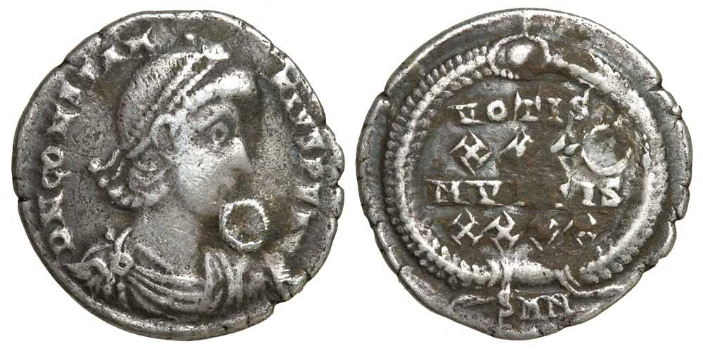 kenapa kebanyakan syiling kuno mempunyai lubang 4