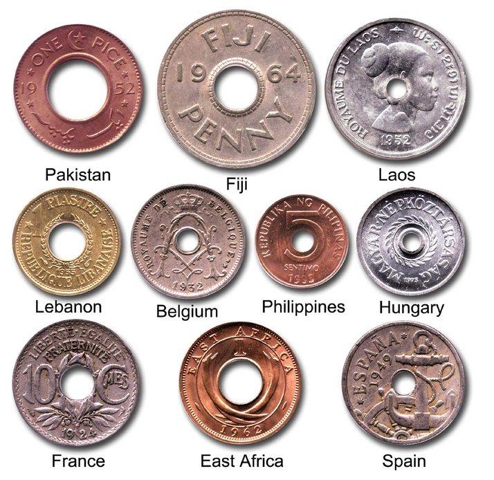 kenapa kebanyakan syiling kuno mempunyai lubang