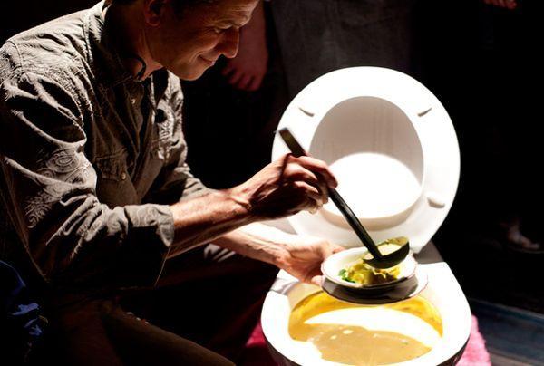 kenduri makan dalam mangkuk tandas