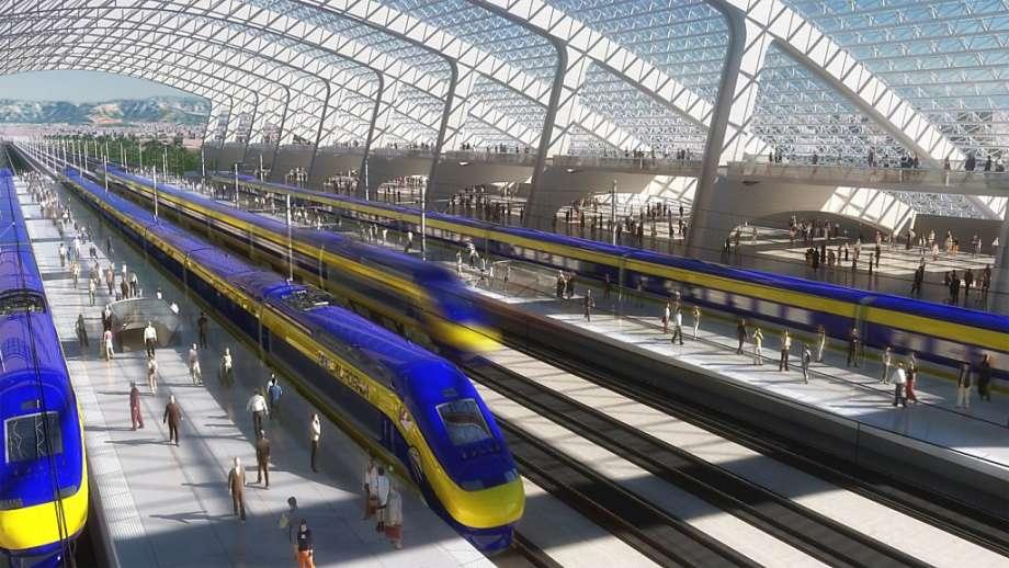 kereta api berkelajuan tinggi california