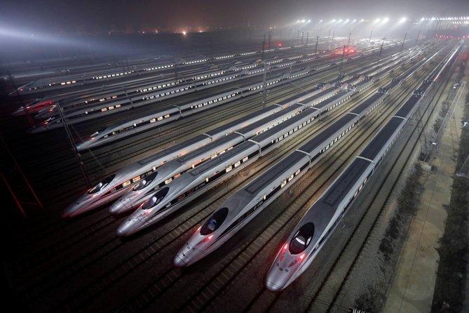 kereta api berkelajuan tinggi china