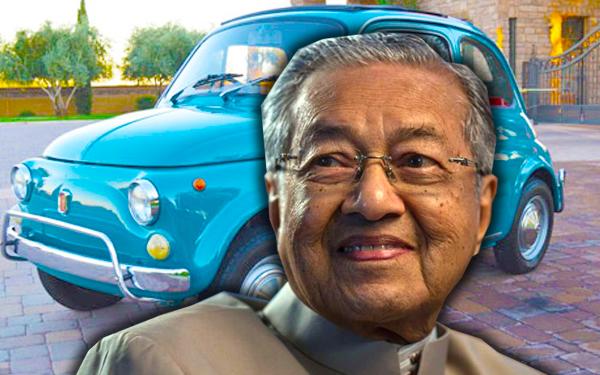 kereta dan kenderaan tun doktor mahathir