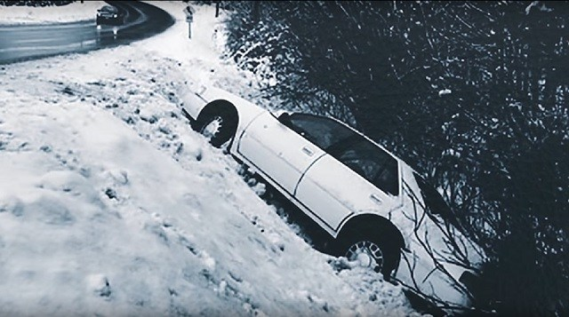 kereta jean yang terbabas