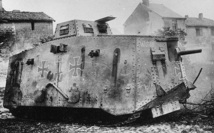 kereta kebal dicipta pada ww1 8 fakta brutal yang ramai tak tahu mengenai perang dunia pertama