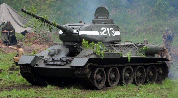 kereta kebal t34 senjata paling dahsyat digunakan dalam perang dunia kedua