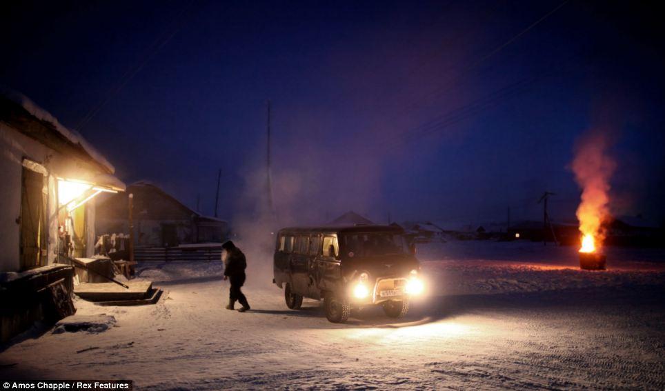 kereta musim sejuk