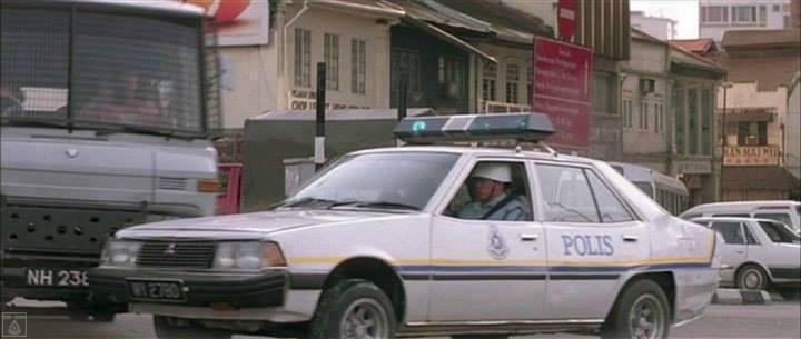 kereta polis zaman dulu