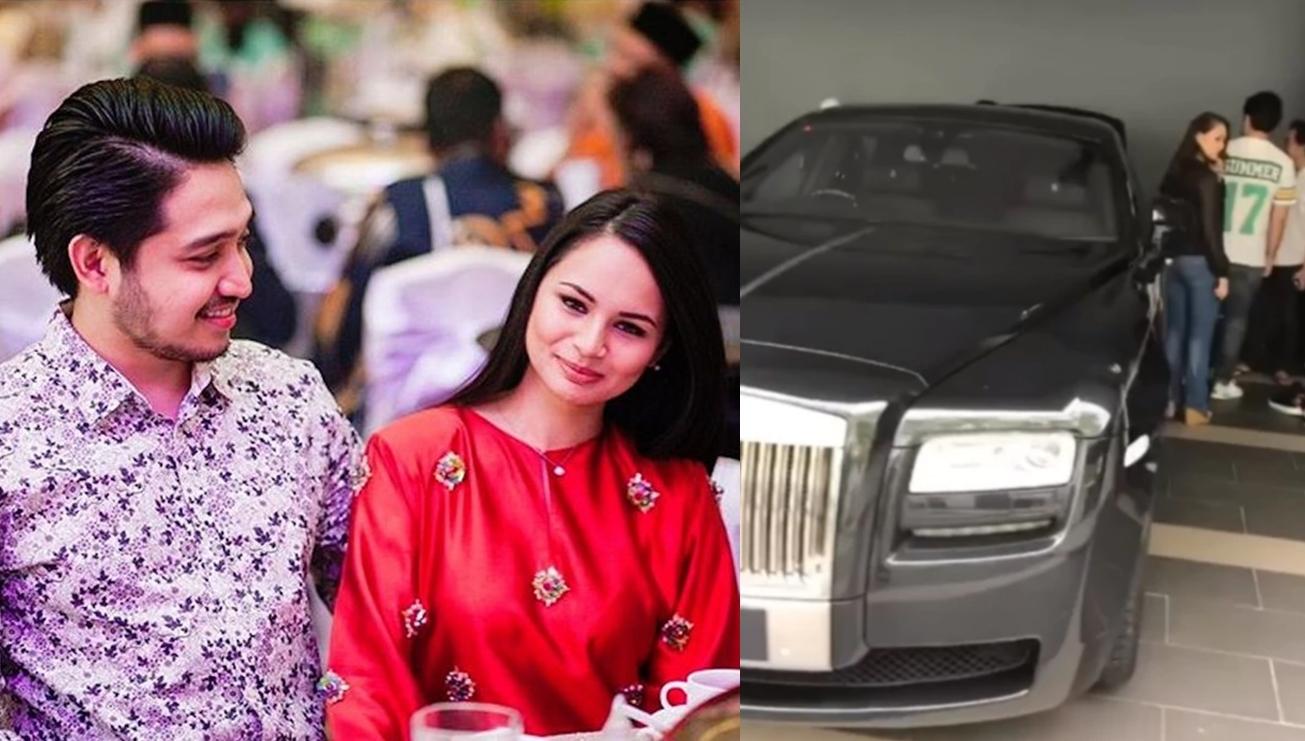 kereta rm1 juta untuk adib khalid dan izara aishah